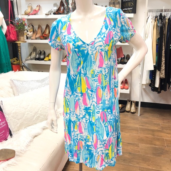 abe451a02936ca Lilly Pulitzer Dresses & Skirts - Lilly Pulitzer Jessica Short Sleeve Dress